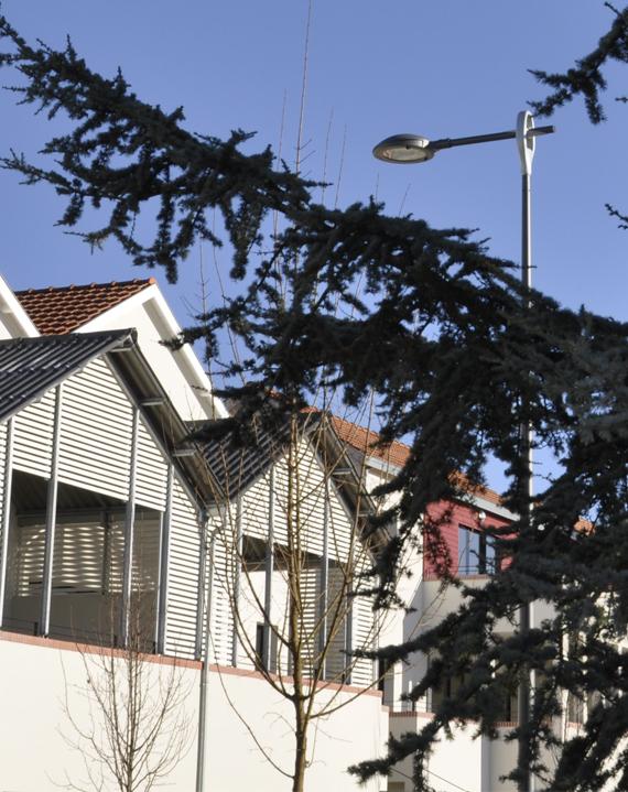 AGO Mobilier d'éclairage urbain Antoine Golinvaux Designer Valmont