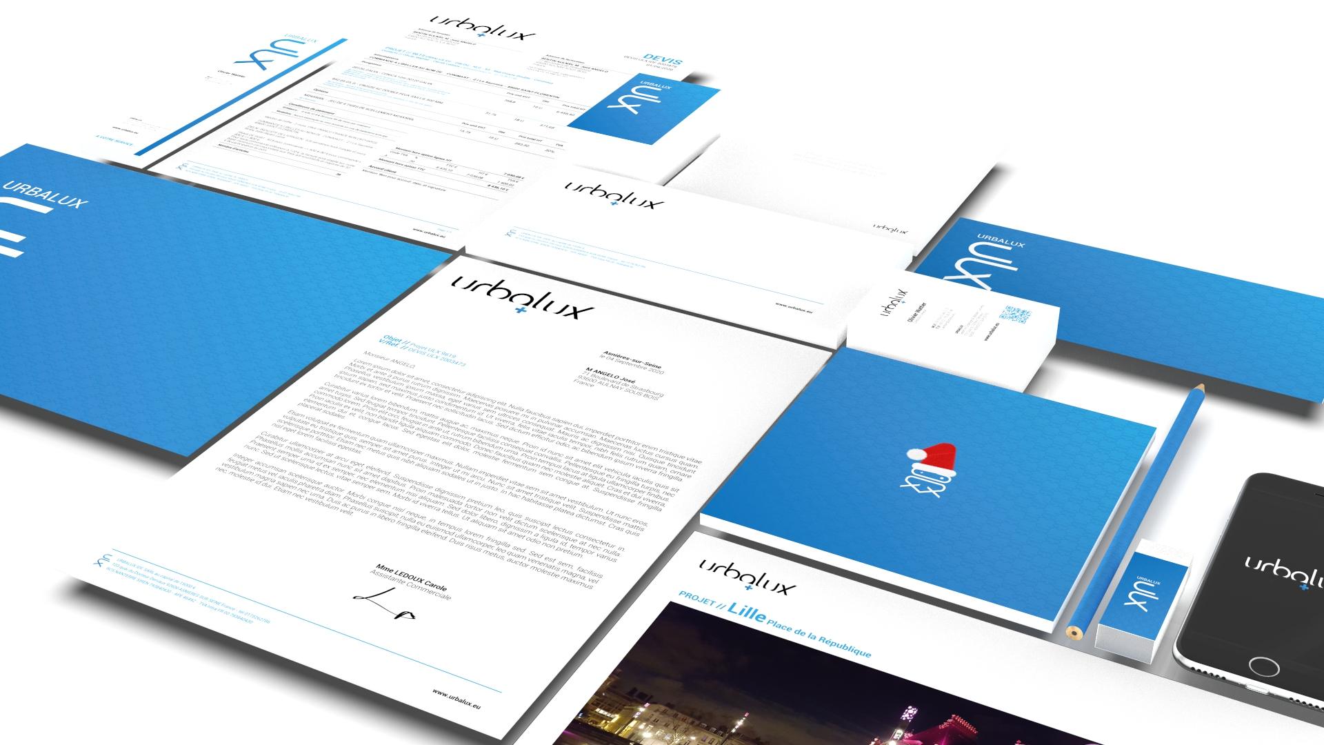 AG Dizajner - URBALUX Identité Visuelle